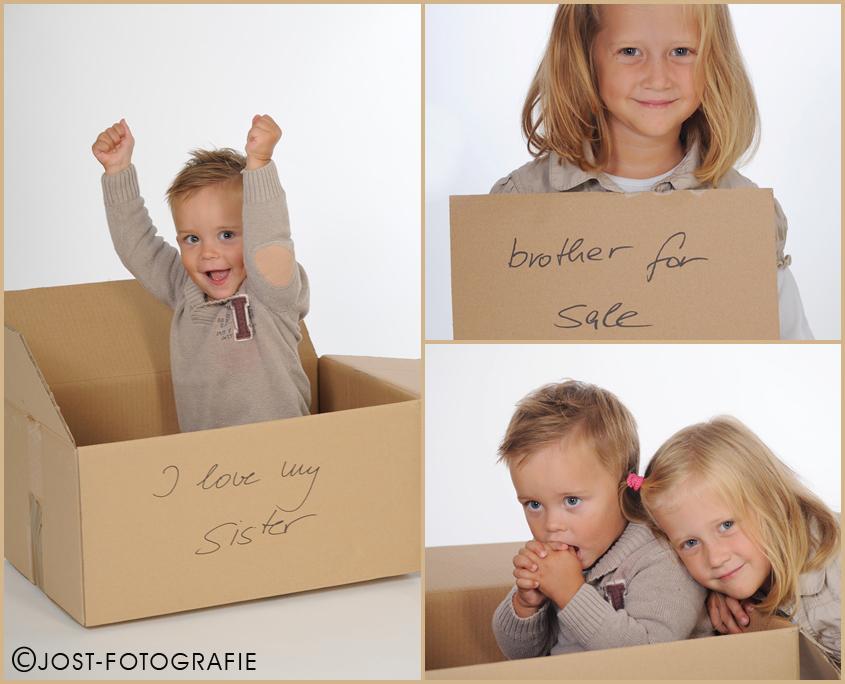 Geschwister Fotoshootng