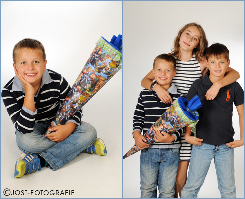 1.Schultag Fotoshooting
